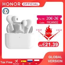 Escolha da honra da versão global verdadeiro tws fones de ouvido sem fio bluetooth fone de ouvido duplo-microfone redução de ruído bluetooth 5.0
