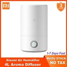 2020 xiaomi mijia umidificador 4l purificador de ar aromaterapia difusor humificador óleo essencial névoa maker para escritório casa