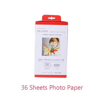 1 Pack 6 Inch Photo Paper For Canon Selphy CP Series CP800 CP810 CP820 CP900 CP910 CP1200 CP1300 CP1000 Photo Printer casual canvas handbags portable storage bag men women case for canon selphy cp910 900 1200 digital photo printer
