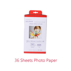 1 paquet de papier Photo 6 pouces pour Canon Selphy série CP CP800 CP810 CP820 CP900 CP910 CP1200 CP1300 CP1000 imprimante Photo