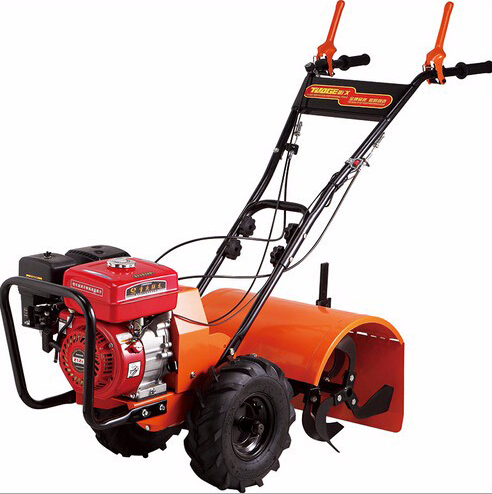 Garden Tools 7 5 HP 170 F Gasoline Engine Walking Tractor Rotary Tiller Walking Cultivator