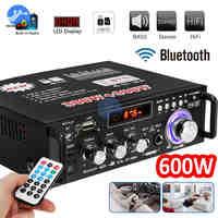 600W Digital Home Verstärker Bluetooth Audio Subwoofer Sound System Verstärker HIFI Heimkino USB SD AMP
