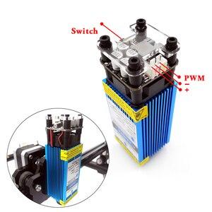 Image 5 - 40x50 lazer gravür makinesi 0.5 1.5w DIY mini lazer gravür ahşap plastik deri paslanmaz çelik vb lazer kesici işaretleme plotter