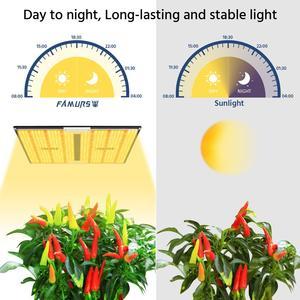 Image 3 - Светодиодная лампа полного спектра Famurs, квантовая панель 1000 Вт/2000 Вт/3000 Вт, лампа для освесветильник растений для внутреннего освещения, яркая палатка для выращивания