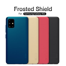 NILLKIN Armor Case for Samsung Galaxy A51 Phone Cover Frosted Shield Smartphone Coque Capa Para Black Matte Hard Telephone Bag