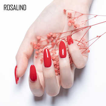 (Choose 10)ROSALIND 10ML Gel Nail Polish Set Fresh Color Soak off UV Nail Art Manicure Primer Nails Gel Polish Varnish Kit