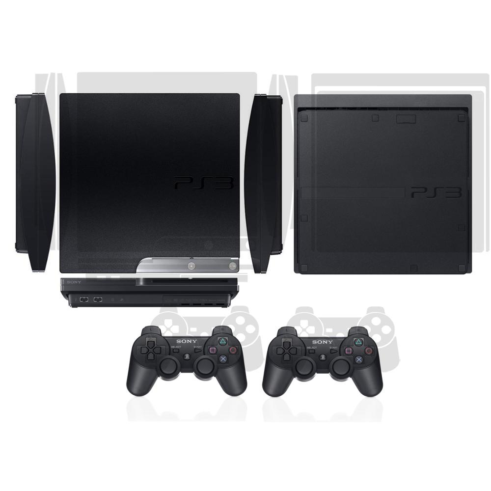 Transparent Clear Vinyl Skin Sticker Protector For Sony Ps3 Slim Playstation 3 Slim And 2 Controller Skins Stickers Buy At The Price Of 6 39 In Aliexpress Com Imall Com