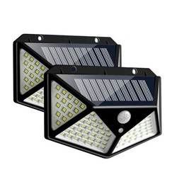 Led Outdoor Solar Lampen Motion Sensor Wand Lampen Wasserdicht Notfall Solar Lampe Geeignet Für Garten Front Tür Garage Zaun