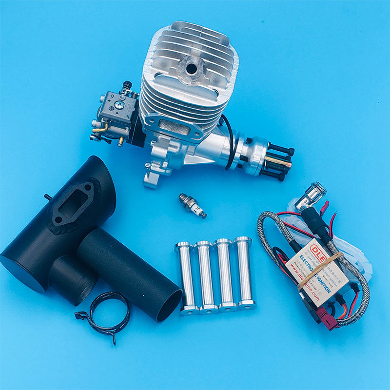 New Arrival DLE65 65CC Gasoline Engine Single Cylinder Two Strokes Natural Air-cooled Engine For RC Airplane Model