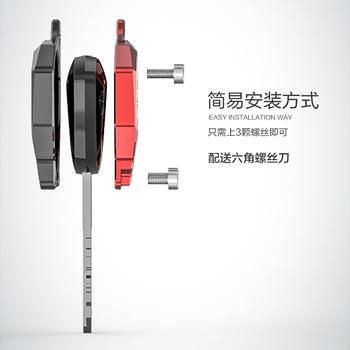 Z kluczem i motocyklem akcesoria klucz pokrywa dekoracja kreatywne produkty dla Honda CB190 dedykowane stylizacji samochodów silnik diy zmodyfikowany tanie i dobre opinie CN (pochodzenie) for Honda CB190 Obejmuje listew ozdobnych