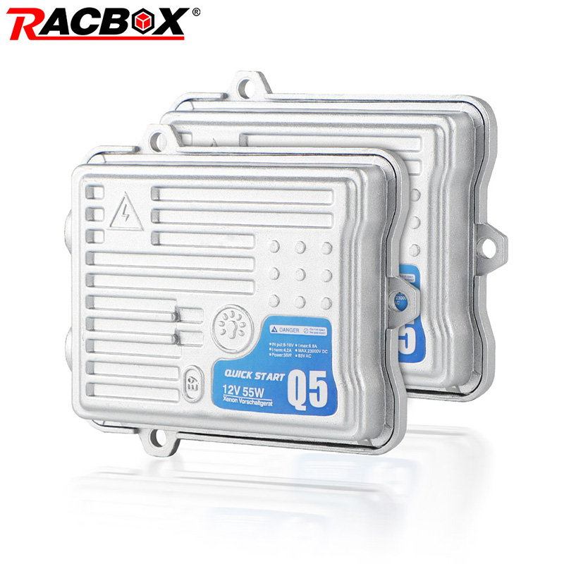 RACBOX AC 12V 70W 55W Xenon HID Slim Ballast Q5 F7 Fast Quick Start C5 Canbus Ballast H1 H3 H7 H8 H9 H11 HB3 HB4 Car Retrofit
