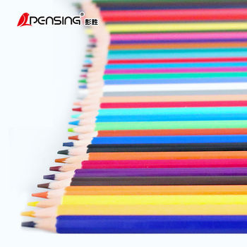 12/18/24/36/48 Colored Pencils Non Toxic Wood-Free Oily Pencil Drawing Pencil Set Hand-Painted Art Pencils for Kids  School