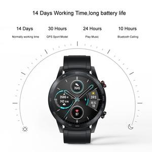 Image 4 - HONOR Watch Magic 2 montre intelligente Bluetooth appelant Bluetooth 5.1 Smartwatch oxygène du sang 14 jours appel téléphonique fréquence cardiaque