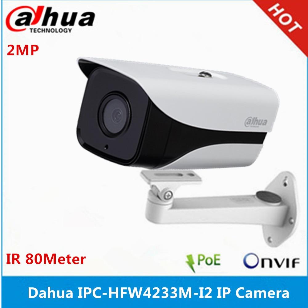 Dahua version multilingue IPC HFW4233M I2 caméra Starlight IP67 IR 80M DH IPC HFW4233M I2 caméra IP poe avec support-in Caméras de surveillance from Sécurité et Protection on AliExpress - 11.11_Double 11_Singles' Day 1