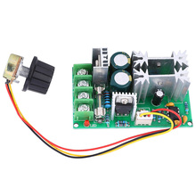 DC Motor Governor Drive Board Module PWM Controller 20A Current Regulator High Power Motor Governor 5pcs cm6800 cm6800tx cm6800txip dip16 low start up current pfc pwm controller combo