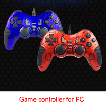Neue Bat Form USB Wired Gamepad Game Controller PC Joystick Mit Turbo Funktion