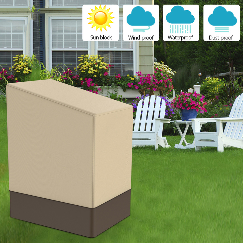 Home Furniture Cover Outdoor Yard Garden Chair  Waterproof Dust Cover Sun Protection Oxford Cloth Foldable Drawstring Covers