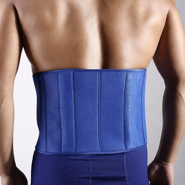 1 PCS Slim fit Abdominal Waist sweat belt Sports Waist trimmer Support Safety Back Support Lumbar Band Protective 1