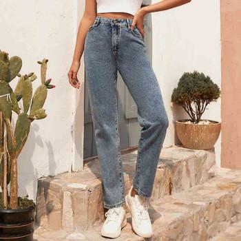 Dżinsy damskie Slim Denim dżinsy z suwakiem spodnie luźne spodnie proste spodnie kobieta dżinsy wysokiej talii dżinsy tanie i dobre opinie 2020 Sexy High Waist women s pants Denim Skinny Pants Women s femme trousers women s sports pants woman high waist pants