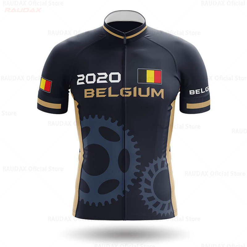 Belgium Cycling Jersey 2020 Pro Team SPECIALIZEDING Cycling Clothing Summer MTB Cycling Shirts Men Bike Jersey Ropa Ciclismo
