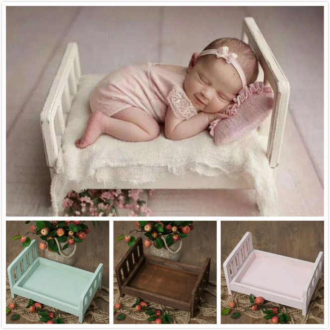 Newborn Baby Bed Baby Posing Container Baby Cribs Detachable Infant Bed Studio Photography Station Baby Shooting Accessory