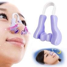 Pince à lever le nez violet/rose, haute qualité, façonne le redressement, correcteur, maquillage, Lifting du visage, outils de beauté