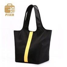 Large Shoulder Bag Luxury Nylon Women Waterproof Brand Shopping Elegant Female Oxford Handbags Woman Travel Messenger