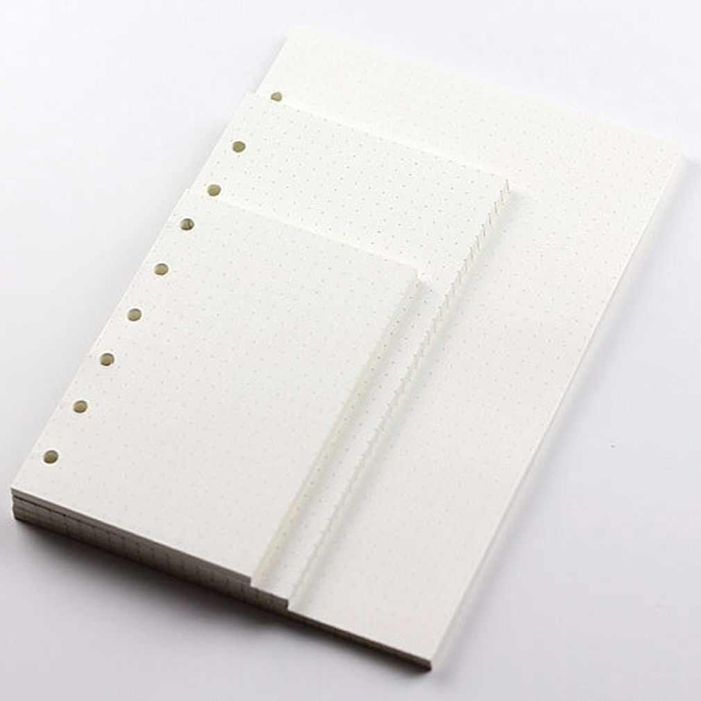 A5/A6/A7 Dot dziennik z terminarzem wstaw napełniania harmonogram organizator 45 arkuszy karteczki do notowania biurowe biurowe szkolne