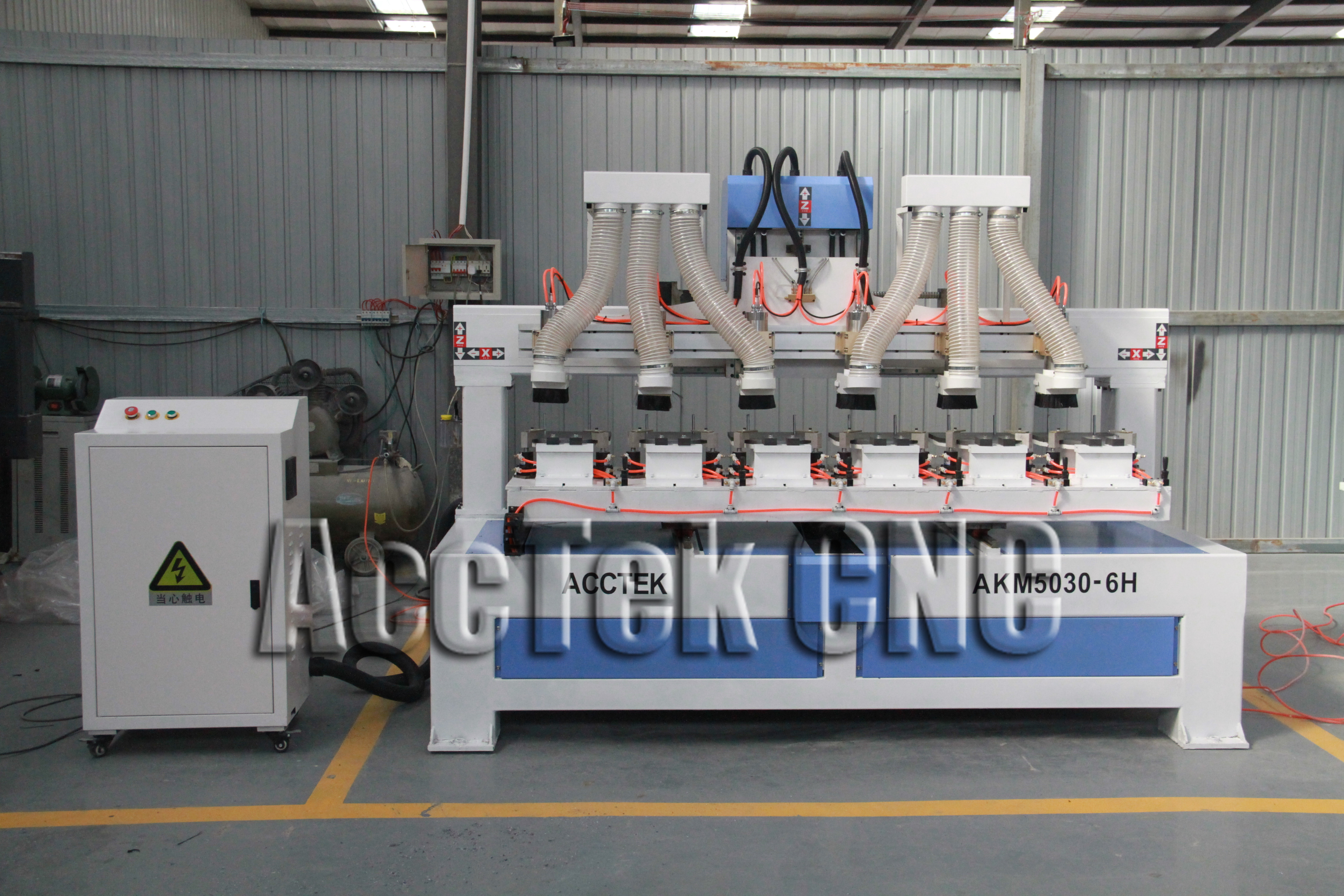 Multi Heads Racket Engraving Machine With DSP Controller Carbon Paddle Racquet CNC Router For Racket