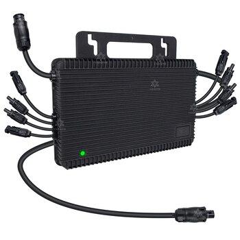 Microinversor Solar MPPT de alta calidad, 1500W, con conexión a la red, onda sinusoidal pura, 36V, 48V, CC de 230V, para placa de 60, 72 y 96 celdas 2