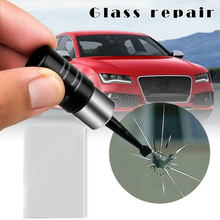 Car Windshield Windscreen Glass Repair Resin Kit Auto Vehicle Window Fix Tool Easy to use and operate  clear tape to prevent car windshield repair tool car styling diy window repair tools windscreen glass scratch crack restore window screen resin kit
