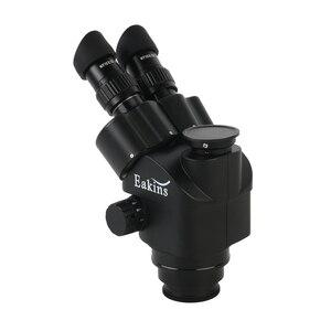 Image 5 - 2020 Black 7X 45X 3.5X 90X Simul Focal Trinocular Microscope Zoom Stereo Microscope Head + 0.5x 2.0x Auxiliary Lens
