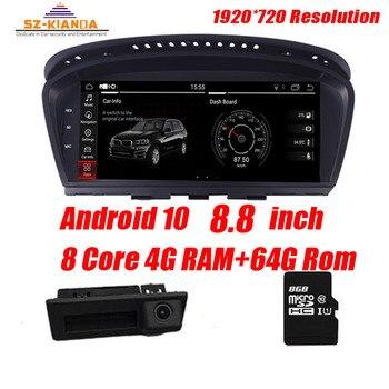 цена на 4G Ram+64G Rom Android 10 Car multimedia player for BMW 5 Series E60 E61 E63 E64 E90 E91 E92 CCC CIC Support iDrive Radio GPS