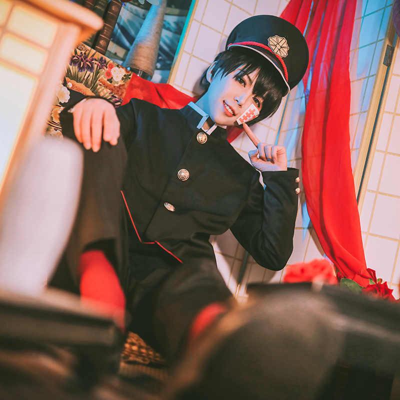 UWOWO Anime Cosplay Costume Wc-Bound Hanako-kun/Jibaku Shounen Hanako-kun Costume Cosplay Uniforme Per uomini