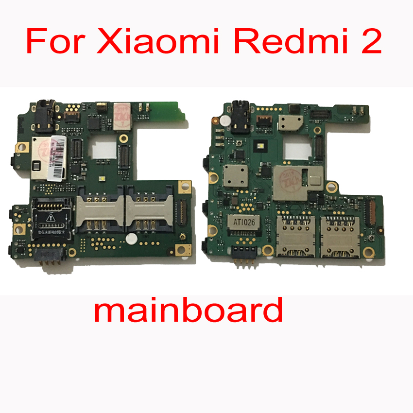 Original Unlocked Mainboard For <font><b>Xiaomi</b></font> <font><b>Redmi</b></font> <font><b>2</b></font> Redmi2 <font><b>Motherboard</b></font> Circuits Card Fee Main Board Phone Accessory 16GB image