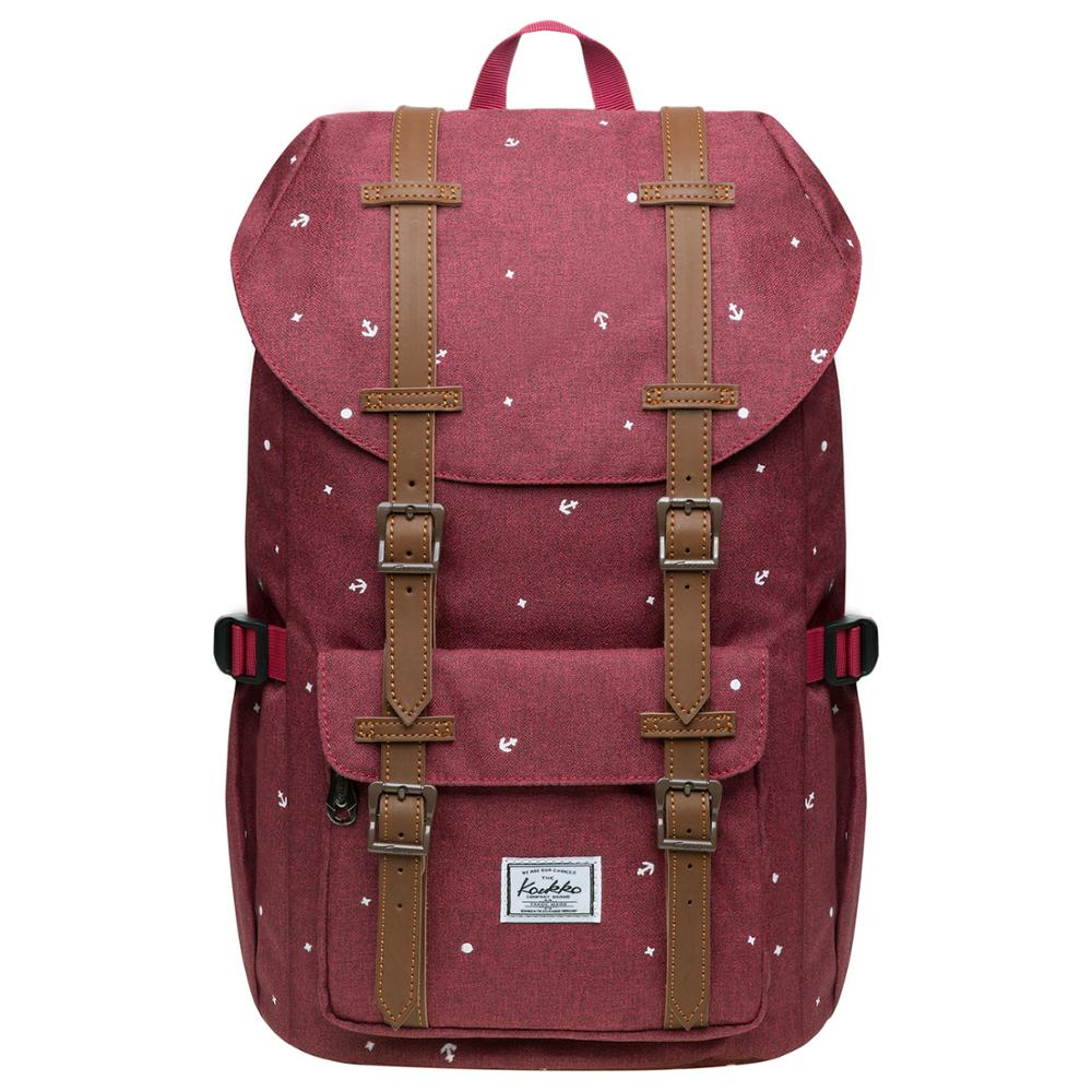 "KAUKKO Schoolbags Women Men Student 15 Inch Backpack for 12 ""Notebook Casual Daypacks, 40 * 25 * 14 cm, 14L, Mini"