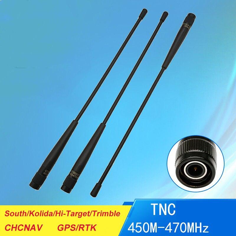 GPS Receiver TNC-J Transmitter Radio Antenna 450-470Mhz QT450GT 4dBi 31cm Screw Antenna RTK Gps South S82 S86 Replace QT450A