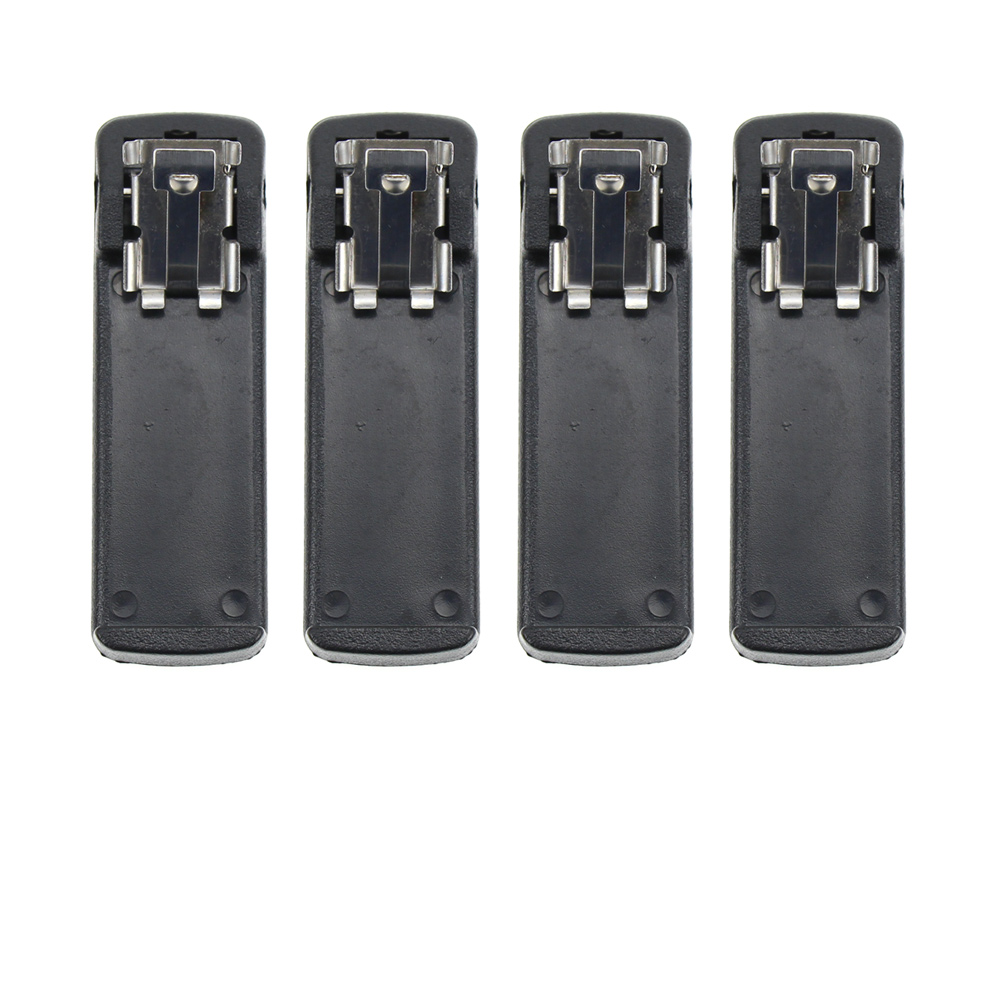 4X Belt Clip For Motorola Radio GP900 GP1200 GP2010 GP2013 HT1000 HT6000 MT2000