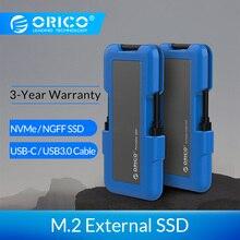 ORICO внешний SSD жесткий диск 1 ТБ SSD 128 ГБ 256 ГБ 512 ГБ M.2 NVME SSD NGFF SSD портативный SSD твердотельный накопитель с USB 3,1 типа C