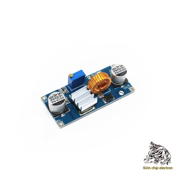 5PCS/LOT DCDC XL4015 Pressure-down Module 4 To 38V High Power 96% High Efficiency Low Ripple 5A