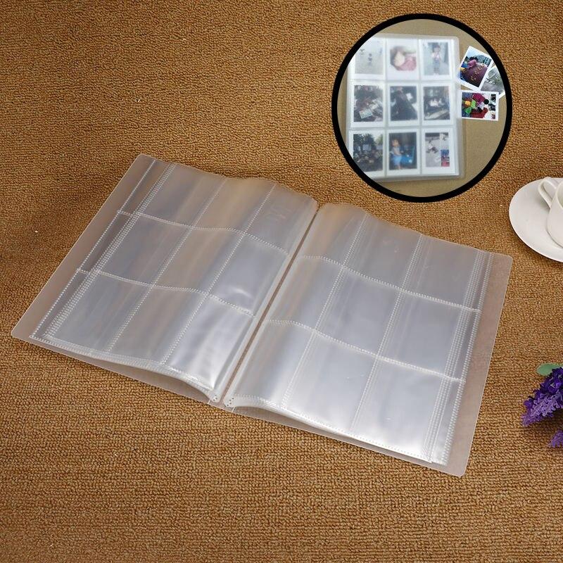 288 карманов прозрачная пленка фотоальбом для Fujifilm Instax Mini 9 8 7s 25 70 90 камера фильм Тикет имя держатель для карт