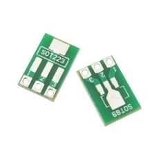 Darmowa wysyłka 100 sztuk partii SOT89 SOT223 do DIP pcb płyta transferowa DIP tablica do notatek skok Adapter Keysets tanie i dobre opinie Glass fiber SOP20