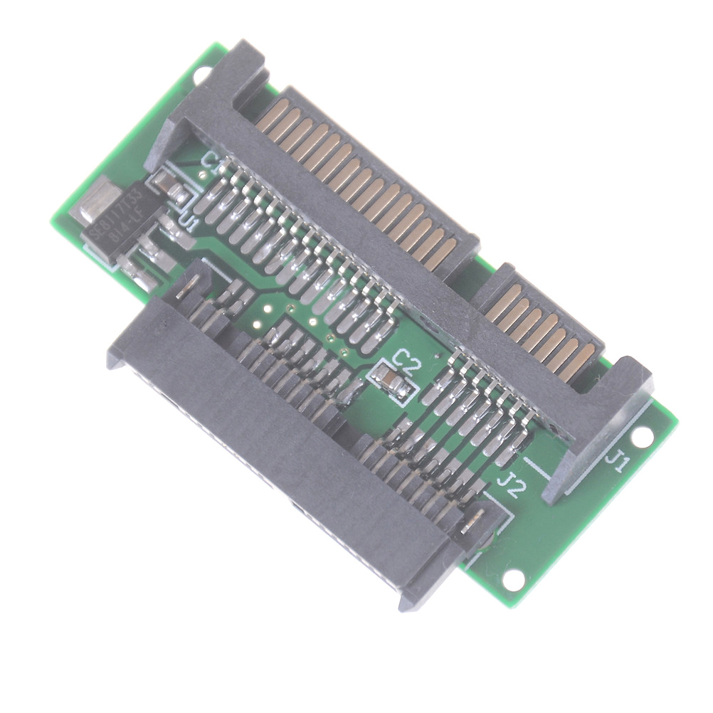 Micro SATA To 2.5 SATA Adapter Micro SATA HDD SSD 3.3V To 22 Pin SATA Hard Drive Adapter Converter