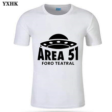 Storm Area 51 Mens T Shirt They Cant Stop All of Us UFO Take People Away Alien Soft Fitness Man White T-shirt Cotton EU Size