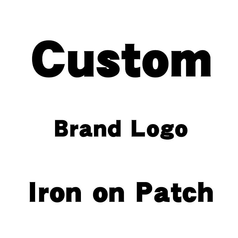 Пользовательский логотип бренда код 1-40 DIY аппликации теплопередачи ПВХ патч тепла винил глажки наклейки Декор наклейки печатные украшения