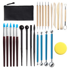 11/25pc polymer clay tools Clay Sculpting Kit Sculpt Smoothing Wax Carving Pottery Ceramic Shapers Modeling Carved Tool Perfect
