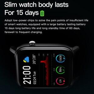 Image 3 - SENBONO 2020 SN87 Smartwatch IP68 Waterproof Smart Watch Men Women Sport Heart Rate Blood Oxygen Monitor Clock PK P8 B57