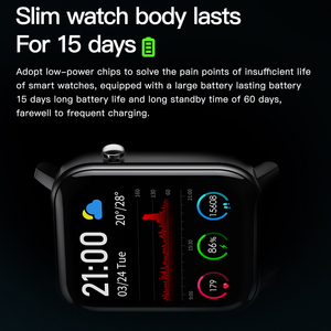 Image 3 - SENBONO 2020 SN87 Smartwatch IP68 su geçirmez akıllı saat erkekler kadınlar spor kalp hızı kan oksijen monitörü saat PK P8 B57