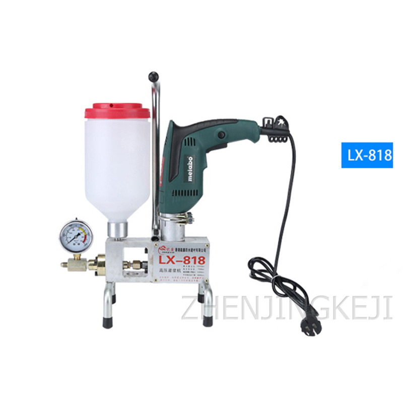 High Pressure Grouting Machine Self Priming Double Liquid Filling Machine Polyurethane Portable Plugging Machine Trapping Tools