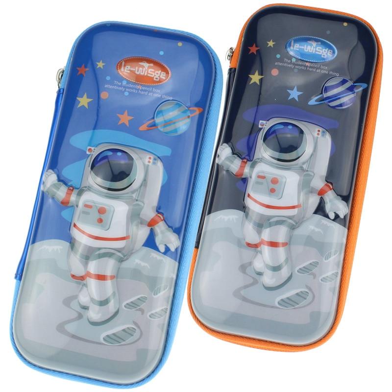 New Pencil Case The Astronaut Stationery Box School Boy Pencil Box Waterproof Fall Not Bad Pen Case Kindergarten The Boy Pen Bag